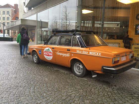 Eddy Merkcx auto Centrum ronde van Vlaanderen