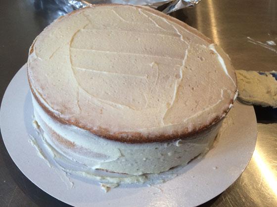 de taart met botercrime