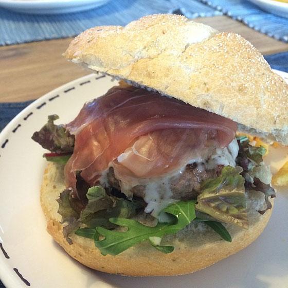 saltimbocca burgers