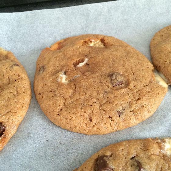 resultaat Dapeppa Marshmallow cookies
