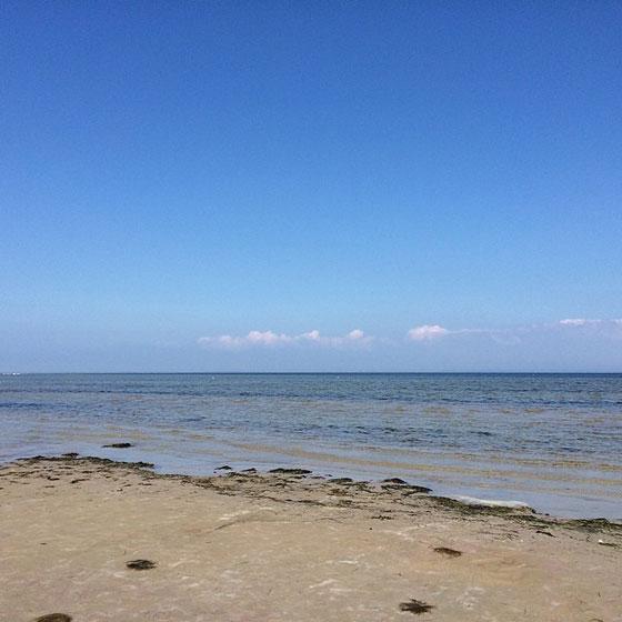 Strand bij Hesjsminde