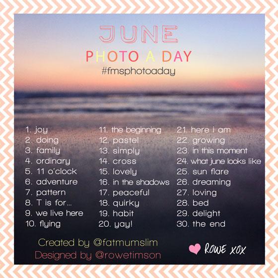 photoadayjuni A Photo a Day Challenge Juni 2014