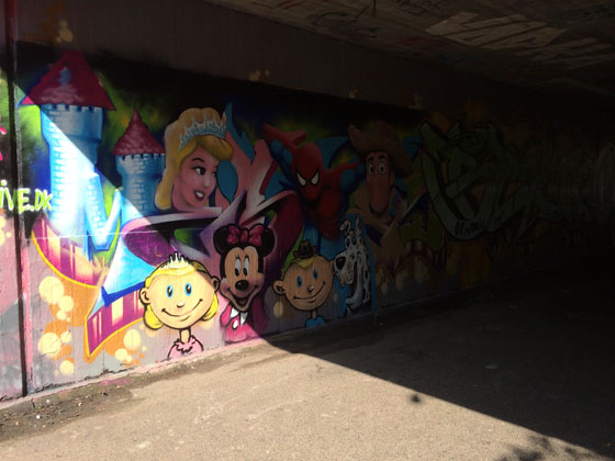 disney graffiti