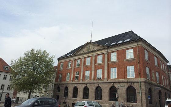 mooi gebouw in Vejle