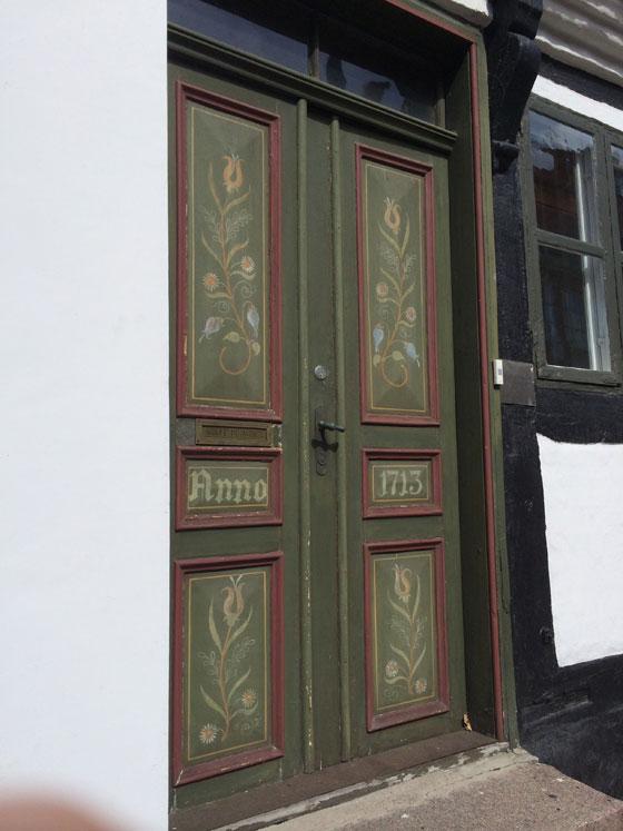 een deur uit 1713