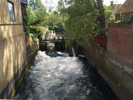 waterwerk 1 stuw
