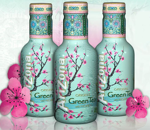 Arizona Iced Tea Green Tea with Ginseng & Honey