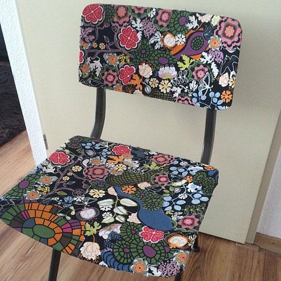 kleurig stoeltje