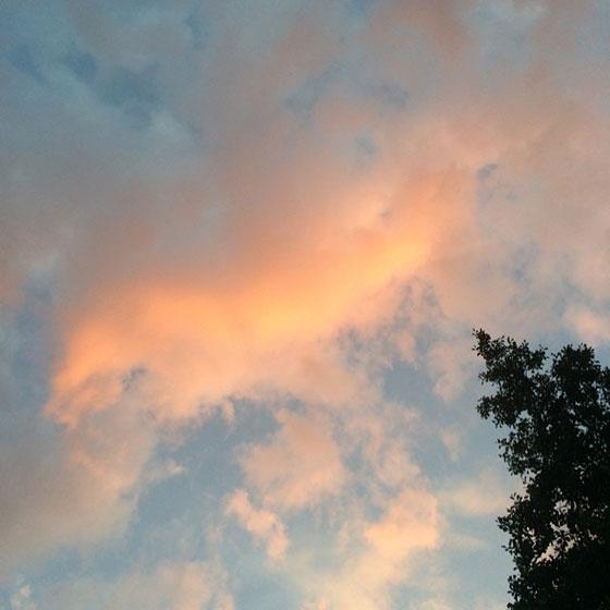 mooie lucht