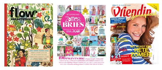 zomerspecials Flow Vakantieboek 2014, Zomerbries en Vriendin Zomerspecial