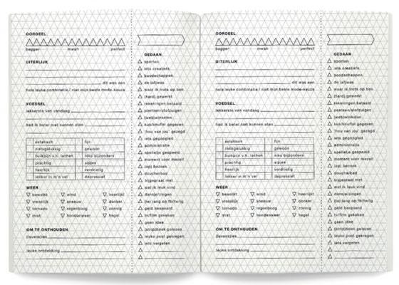 Dagboek voor Luie Mensen binnenwerk