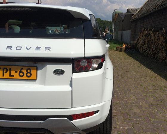 Range Rover Evoque achterkant