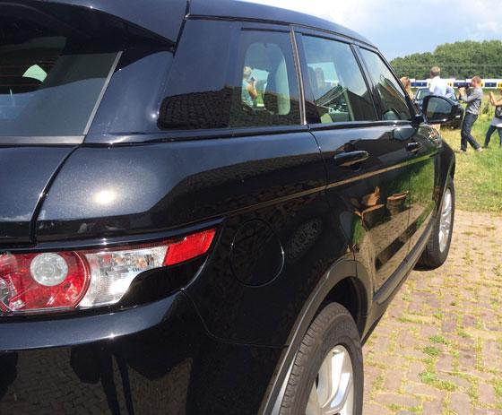 Range Rover Evoque lijnenspel