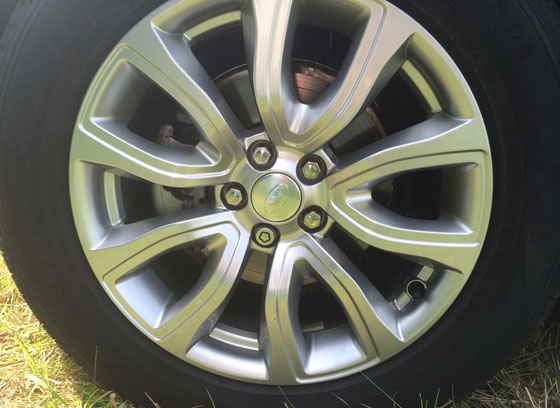 Range Rover Evoque velg
