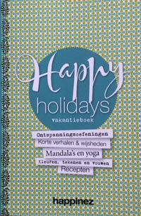 happinezvakantieboek Happy Holidays Vakantieboek van Happinez