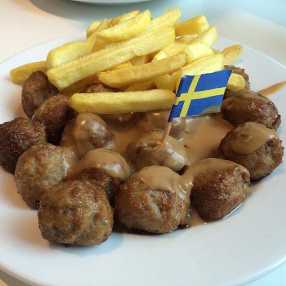 Ikea zweedse balletjes