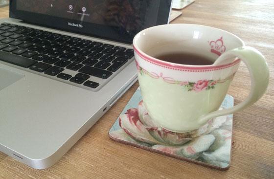 kopje thee met mac