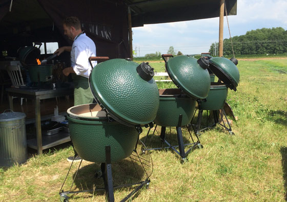 plogevoque08 Ploggen 7 juli 2014: Range Rover Evoque en Big Green Egg Event