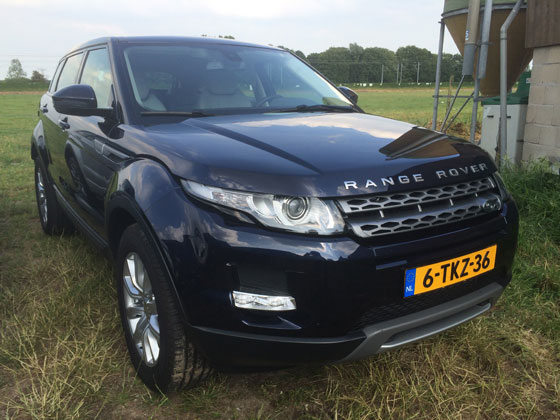 plogevoque22 Ploggen 7 juli 2014: Range Rover Evoque en Big Green Egg Event
