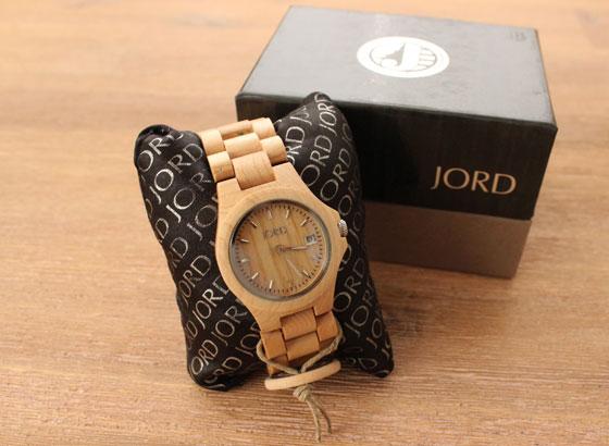 jord01 Hip: Houten Horloges van JORD