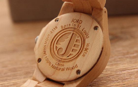 jord03 Hip: Houten Horloges van JORD
