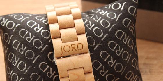 jord04 Hip: Houten Horloges van JORD