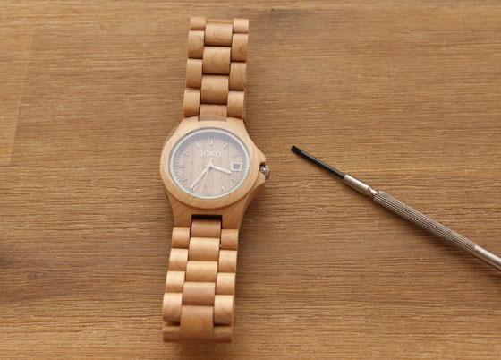 jord05 Hip: Houten Horloges van JORD