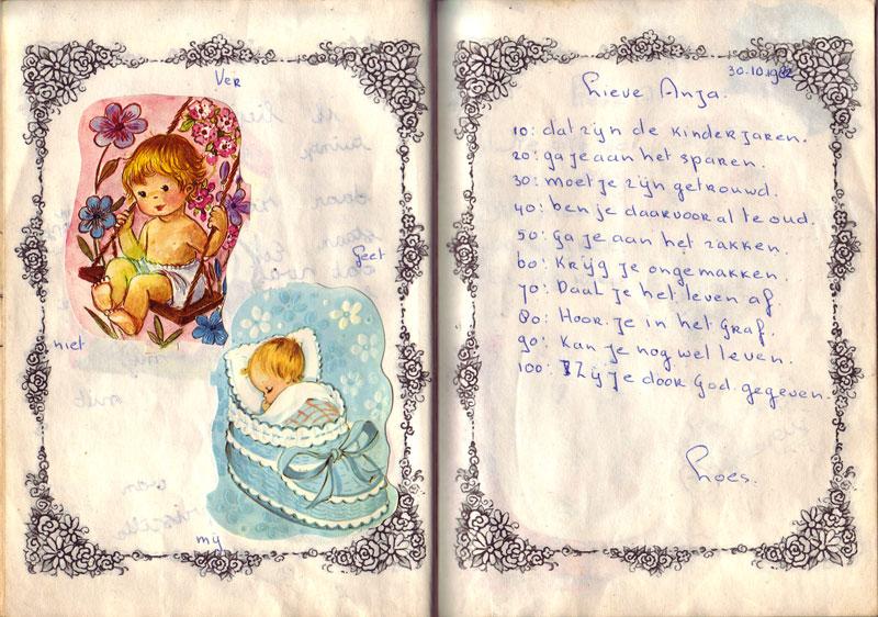 Poeziealbum versje