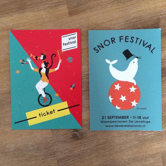 Kaarten voor Snor Festival