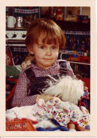 pasfoto van de kleuterschool in de poppenhoek