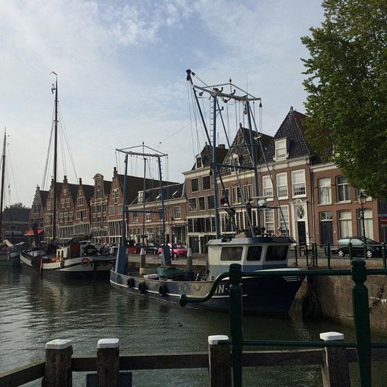 Oude haven Hoorn