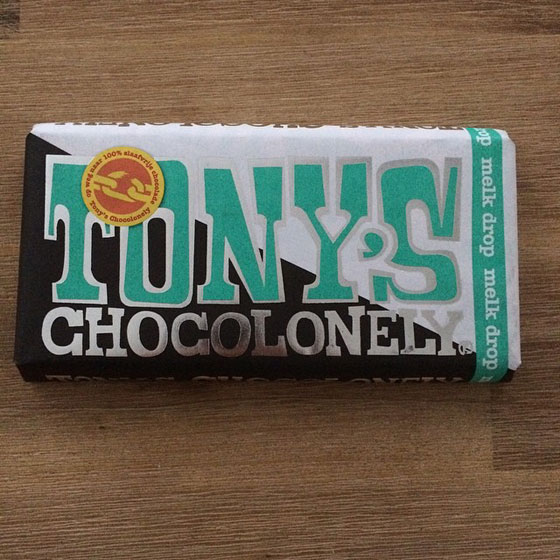 Tony's Chocolonely drop