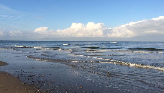 Vergezicht Noordzee
