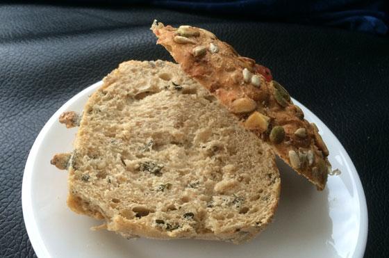 Een broodje met lag