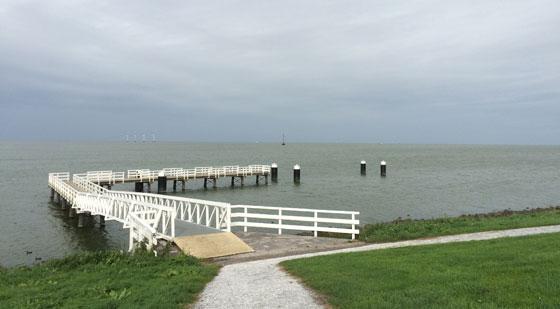 uitzicht IJsselmeer