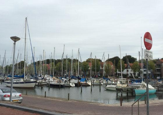 Veel zeilbootjes