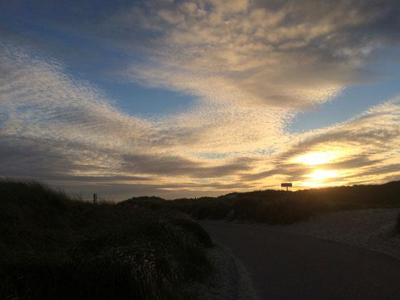 Ploggen 26 September 2014: Strandwandeling en Britt ophalen