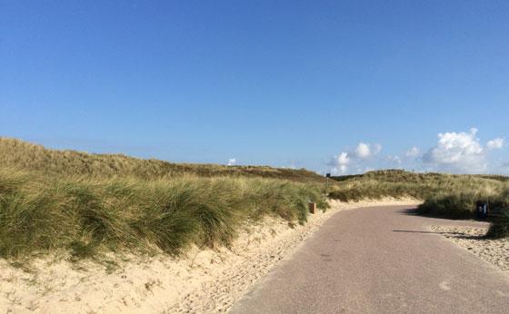 rondje door de duinen