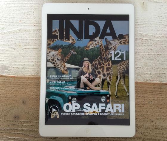 Linda op iPad