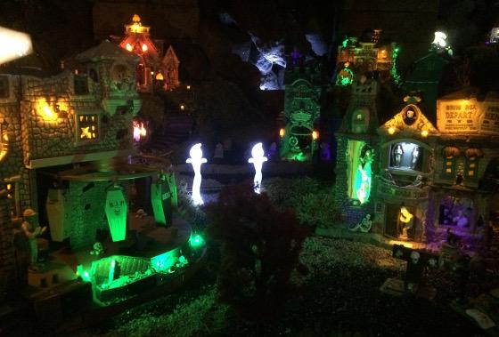 Halloween kersthuisjes