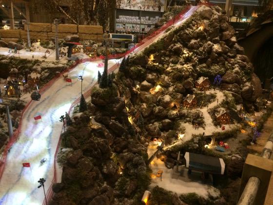 kersthuisjes skibaan dichterbij