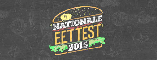 Nationale Eettest 2015 logo