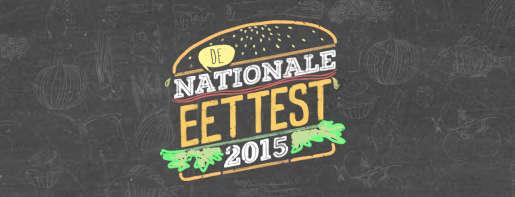 Nationale Eettest 2015 logo