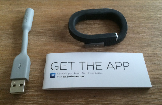 Jawbone UP24 in de doos