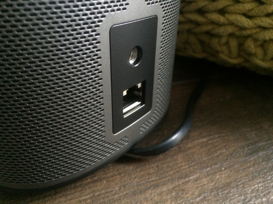 Sonos Play 1 aansluiting