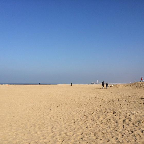 De Noordzee bij Scheveningen