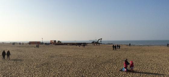 Strandwandeling Scheveningen