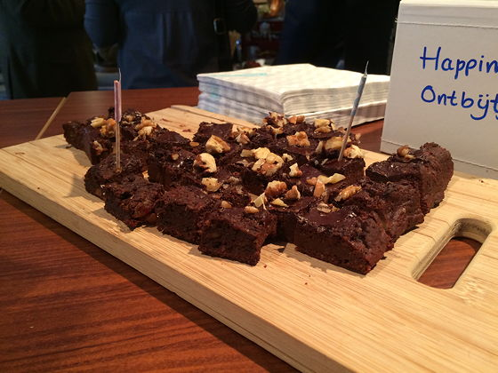 Culiperslunch 2015 Brownies van Rens Kroes