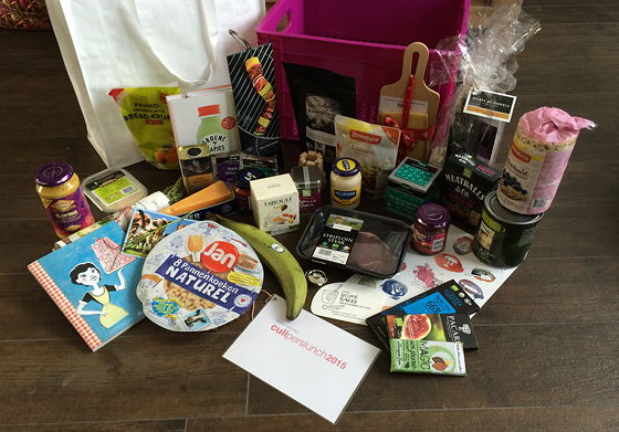 Culiperslunch 2015 goodiebag