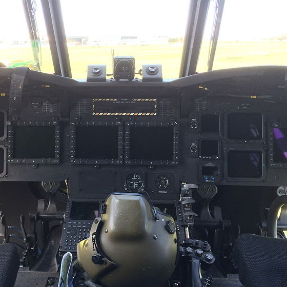 Chinook cockpit